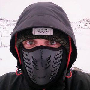 Island Sturmhaube Gesichtsschutz